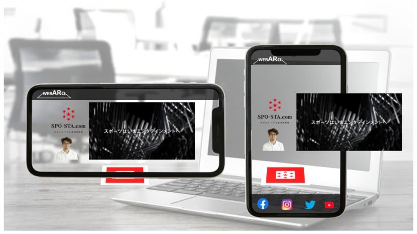 テンプレートDesign Bタイプ/動画+写真/ロゴ