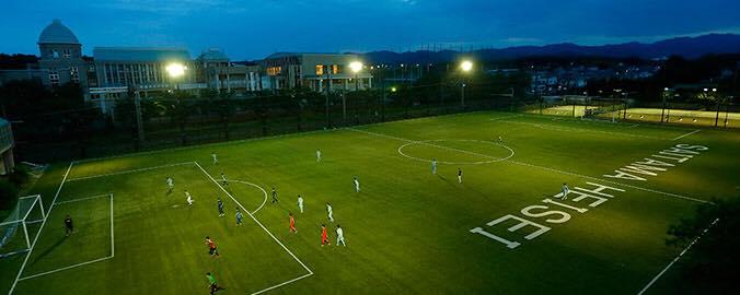 埼玉平成高等学校 サッカーグラウンド